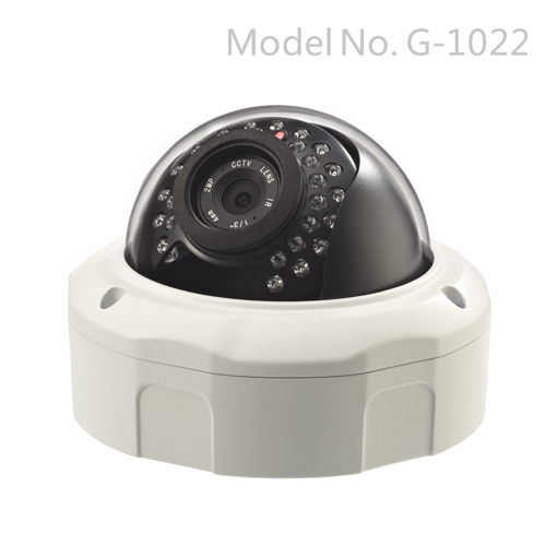G-1022 1080P Vandalproof Day&Night Indoor/Outdoor